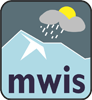 Mountain Weather Information Service logo.
