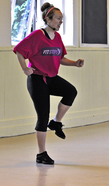 Dance/fitness instructor Katie Marston.
