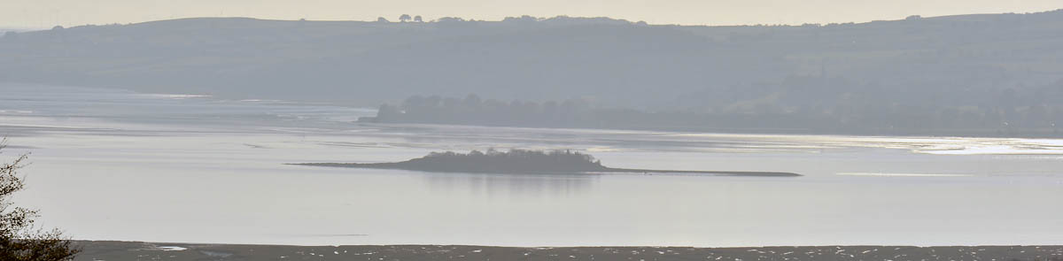 Leven Estuary viewed from the Cartmel Peninsula.